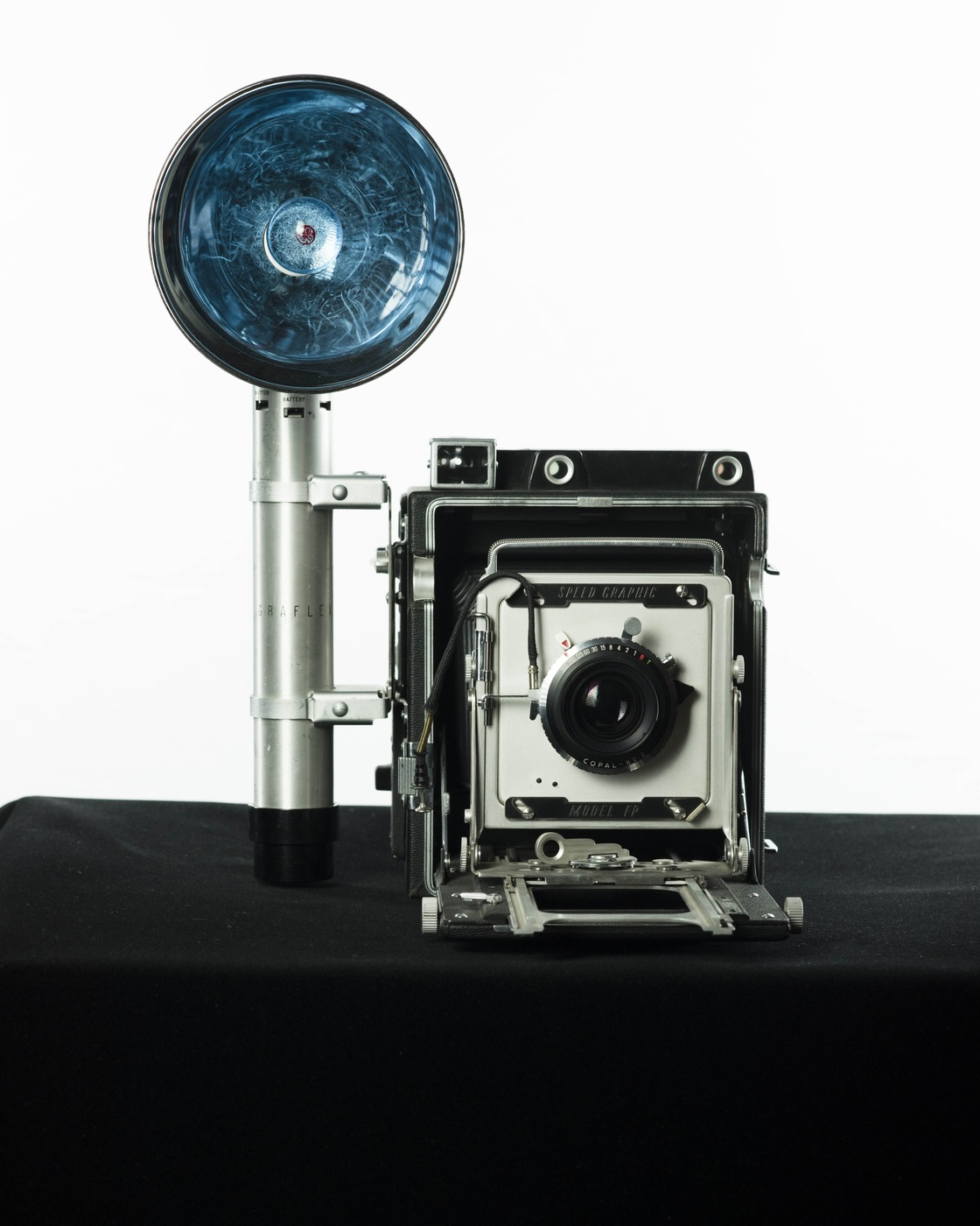 Artifact of the Month: November 2018: Graflex Speed Graphic Camera