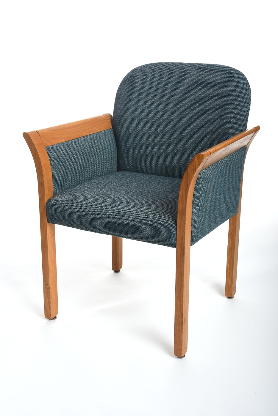 Photo of the chair FBI Special Agent Earl Edwin Pitts was sitting in at the FBI Academy when he was arrested on espionage charges in 1996.