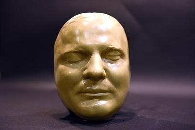 """October 2020: Charles """"Pretty Boy"""" Floyd's Death Mask"""