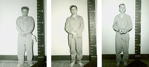 Roger Touhy, Edward Darlak, and Basil Banghart were captured on December 29, 1942.