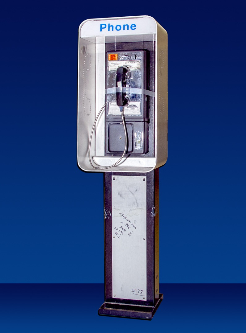The FBI's July Artifact of the Month is a phone booth from the FBI's investigation into the bombing at Centennial Olympic Park in July 1996.