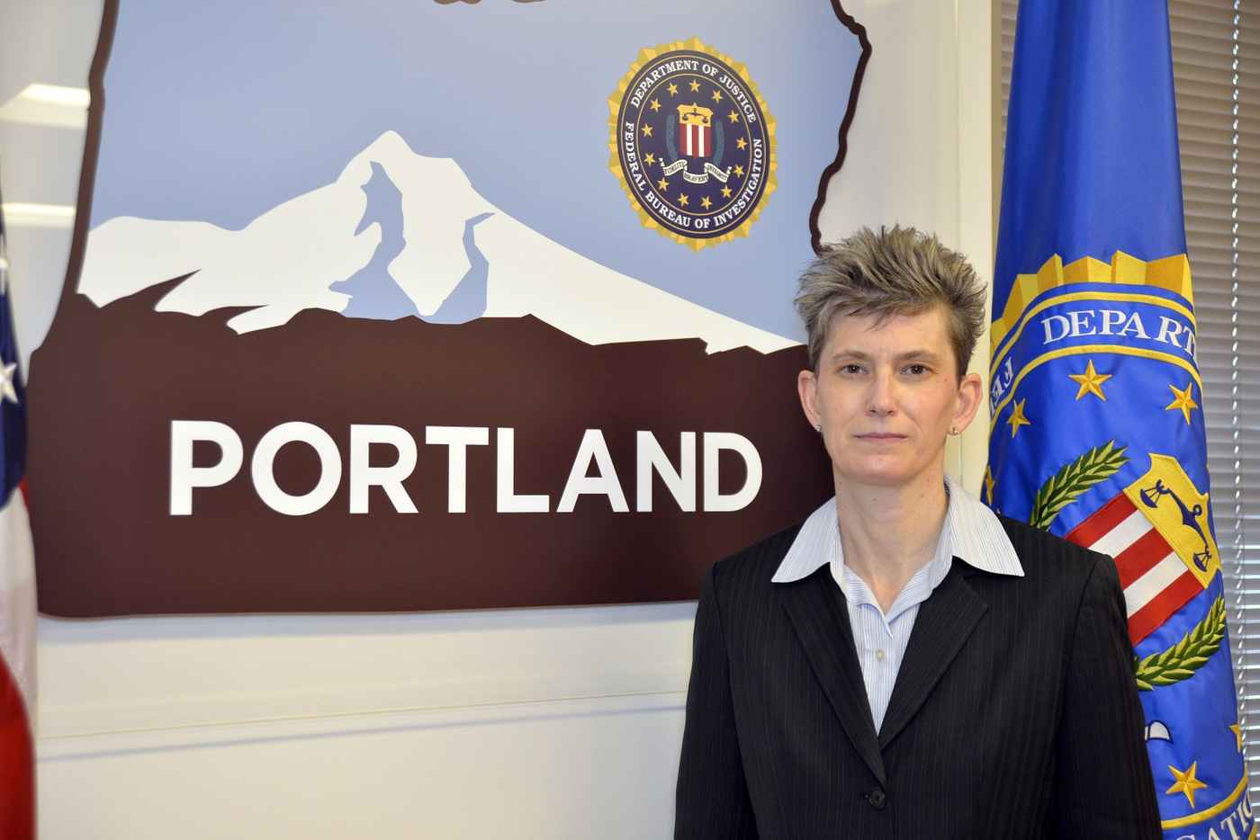 Portrait of ASAC Eliza Odom, FBI Portland
