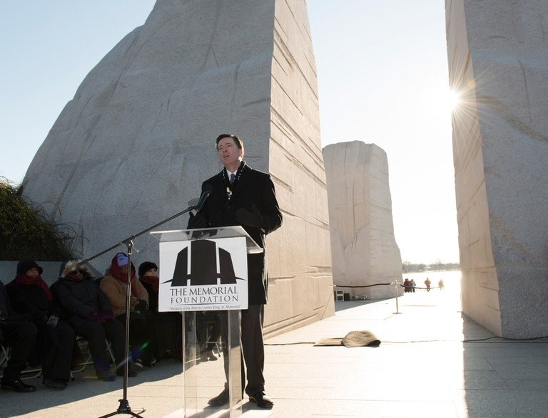 Director Comey Speaks at 2016 MLK Memorial Ceremony