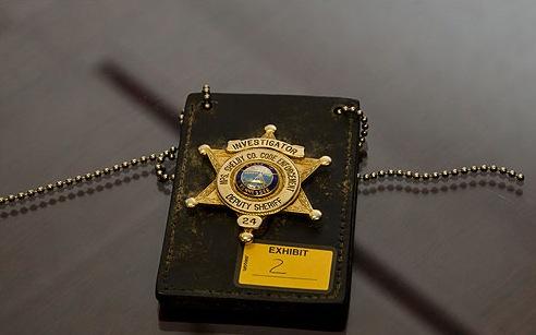 Mickey Wrightas Badge