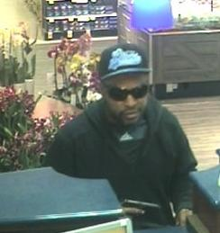 """Lion Man"" Bank Robbery Suspect, Photo 3 of 4 (5/2/14)"
