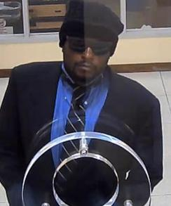 Serial Bank Robbery Suspect in Maryland/D.C., Photo 2 of 2 (7/2/14)