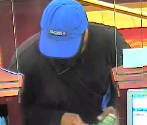 Hoax Bomber Bank Robbery Suspect, Photo 2 of 3 (7/10/14)