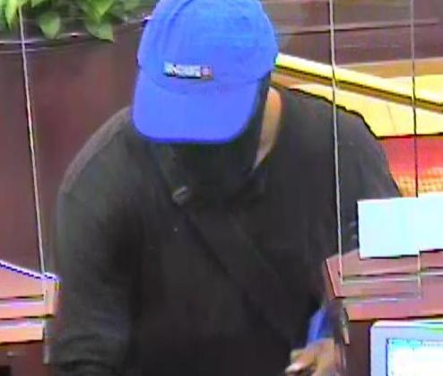 Hoax Bomber Bank Robbery Suspect, Photo 3 of 3 (7/10/14)