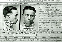 Fred Barker was killed in a shoot-out with FBI agents on on January 16, 1935.
