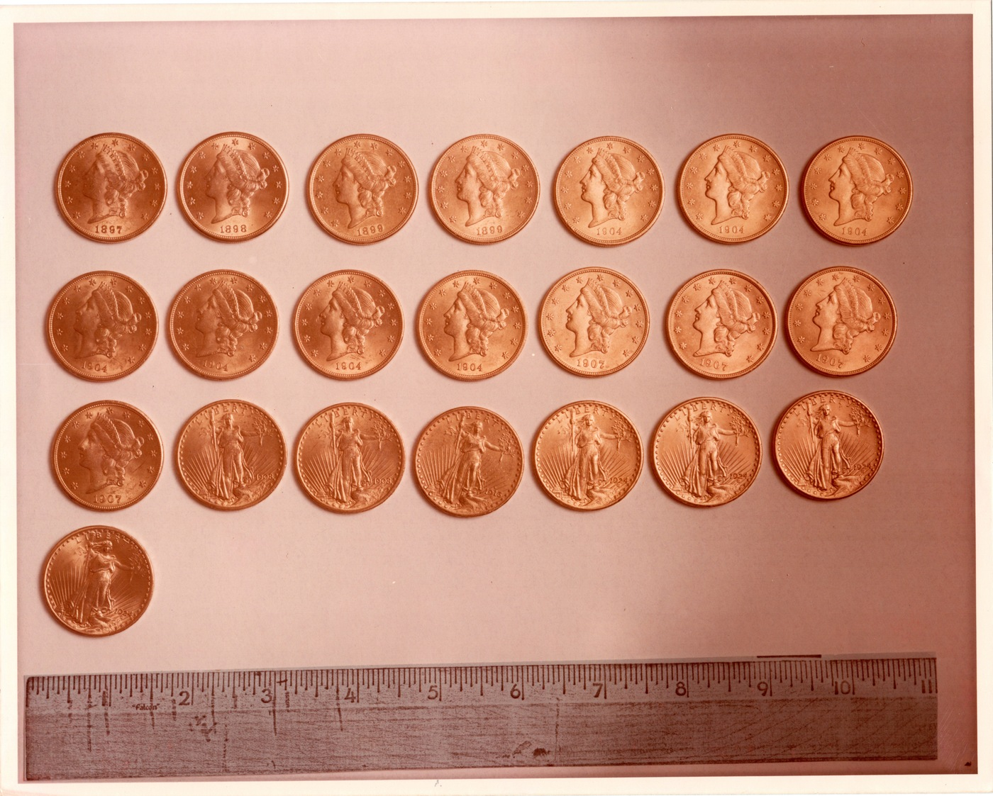 Gold Coins in Bell-Zacharski Espionage Case