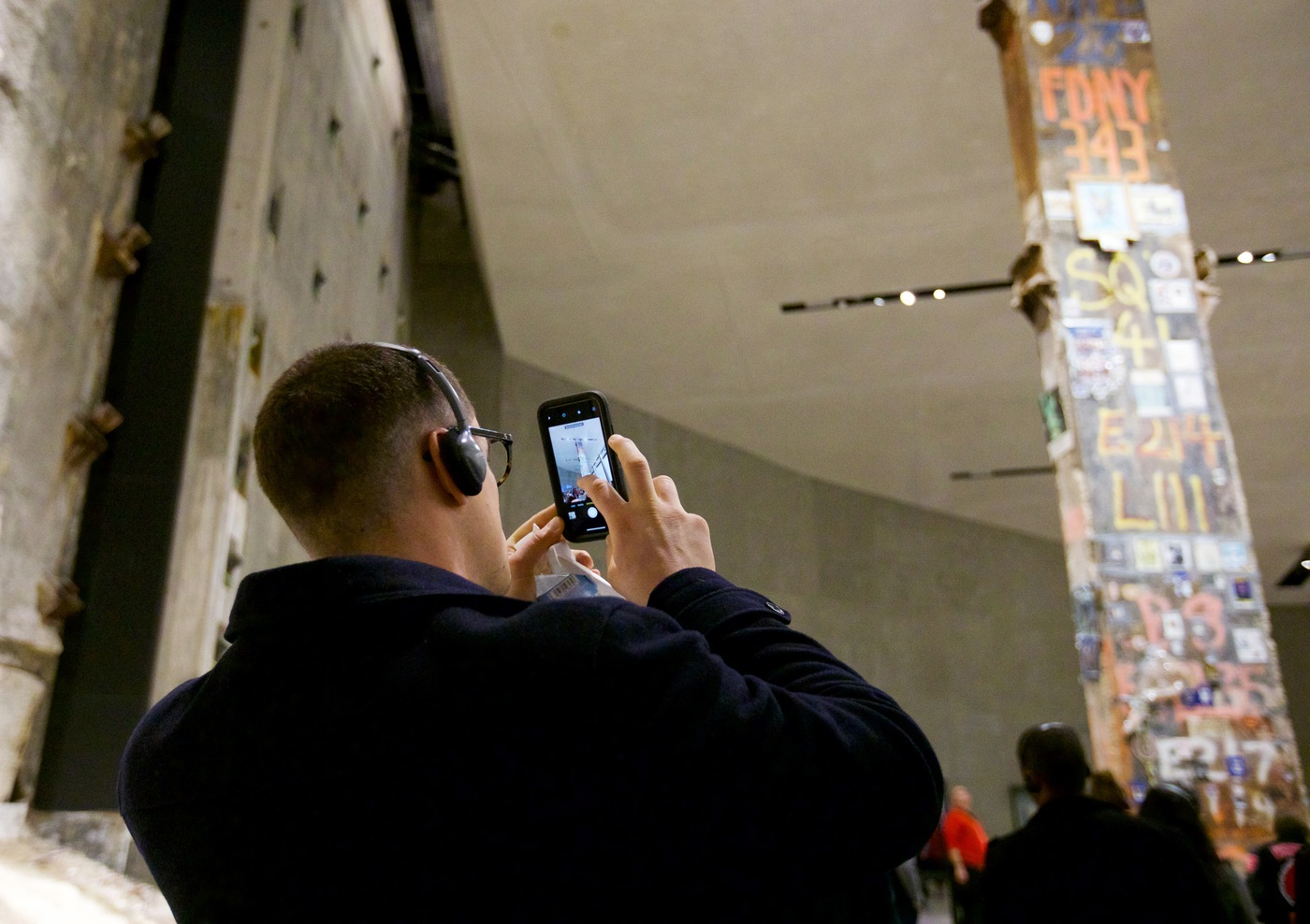 Taking a Photo at 9/11 Memorial & Museum