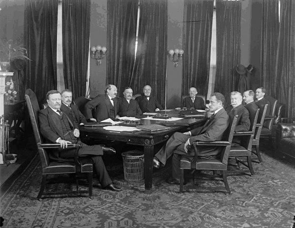 Attorney General Bonaparte in President Rooseveltas Cabinet