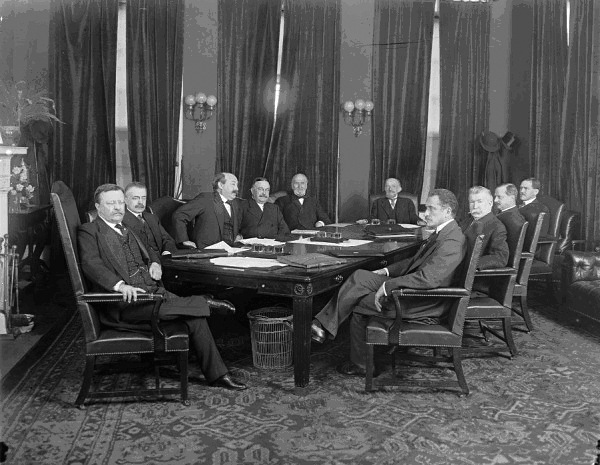 Attorney General Bonaparte in President Rooseveltas Cabinet