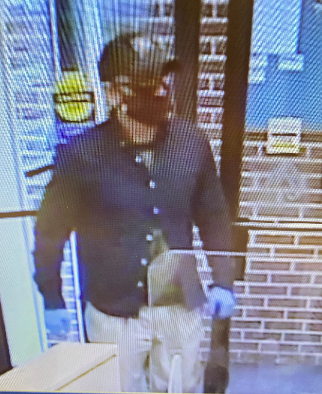 The FBI and the Maine State Police are offering a reward ofup to $10,000for information leading to the identification, arrest, and conviction of theThirsty Bandit,a bank robber who is consideredarmed and dangerous.