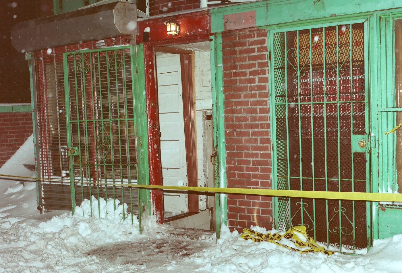 Entrance to social club on Tyler Street as seen in 1991. Hung Tien Pham is wanted for his alleged involvement in the execution-style murders of five men at the Chinatown social club in Boston,