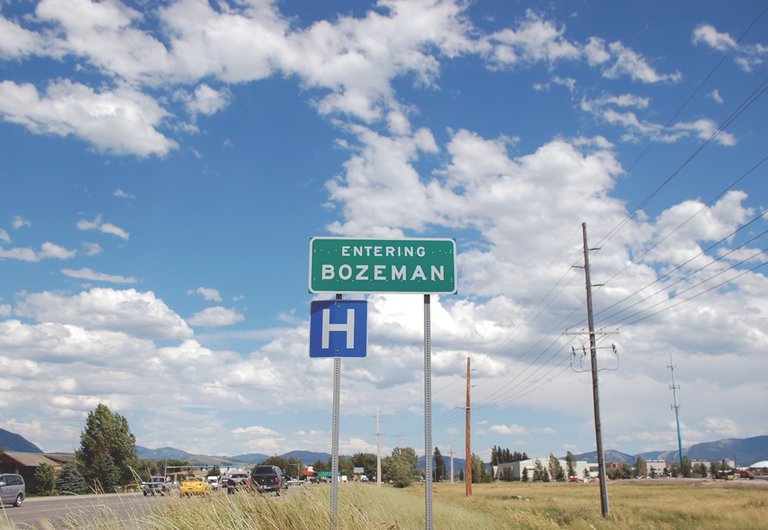 Bozeman Sign (2011)