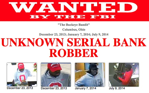 Screenshot of Buckeye Bandit's Wanted Poster