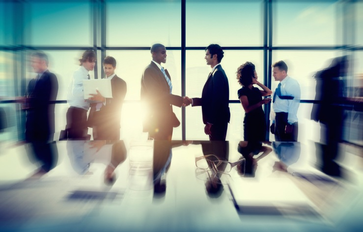 Business Partnerships (Stock Image)
