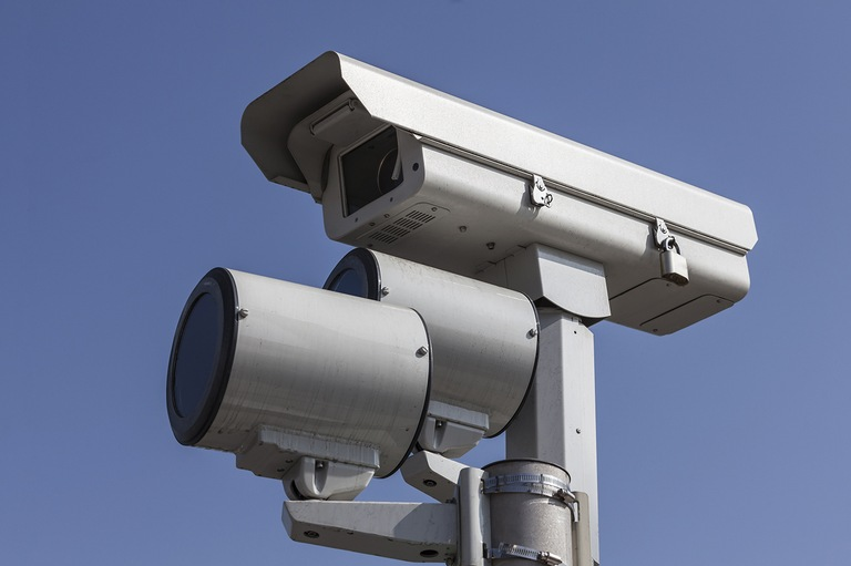 Red-Light Camera (Stock Image)