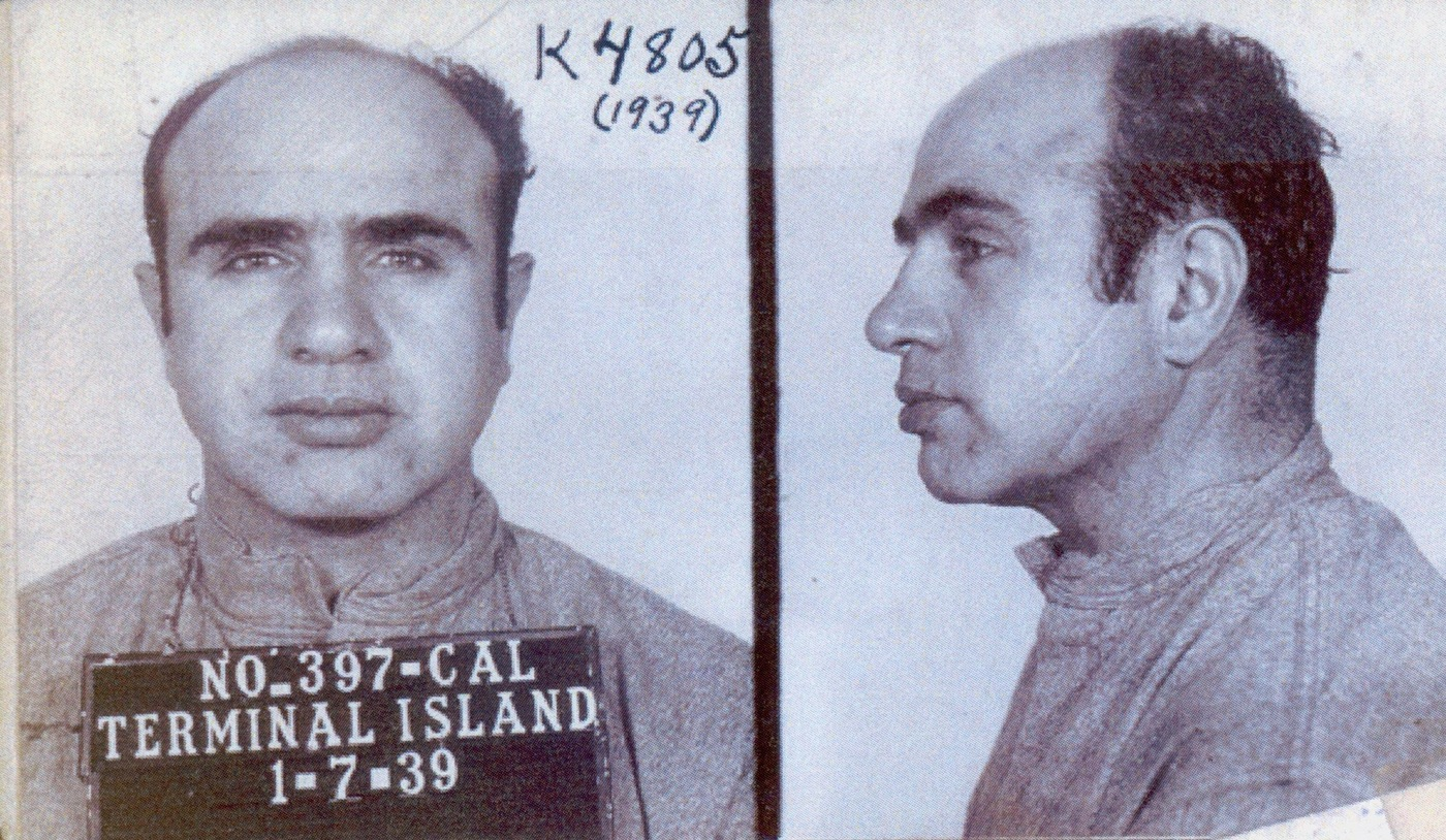 "Alphonse Gabriel ""Al"" Capone rose to infamy as a gangster in Chicago during the 1920s and early 1930s."