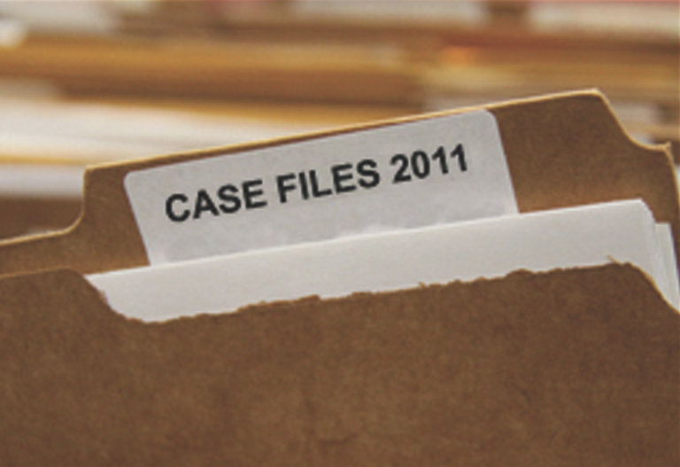 Case Files 2011