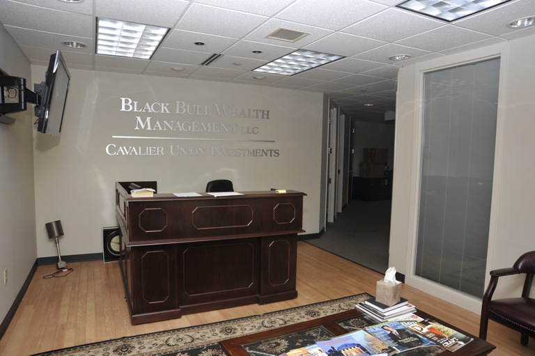 Cavalier Union Investments Reception Area
