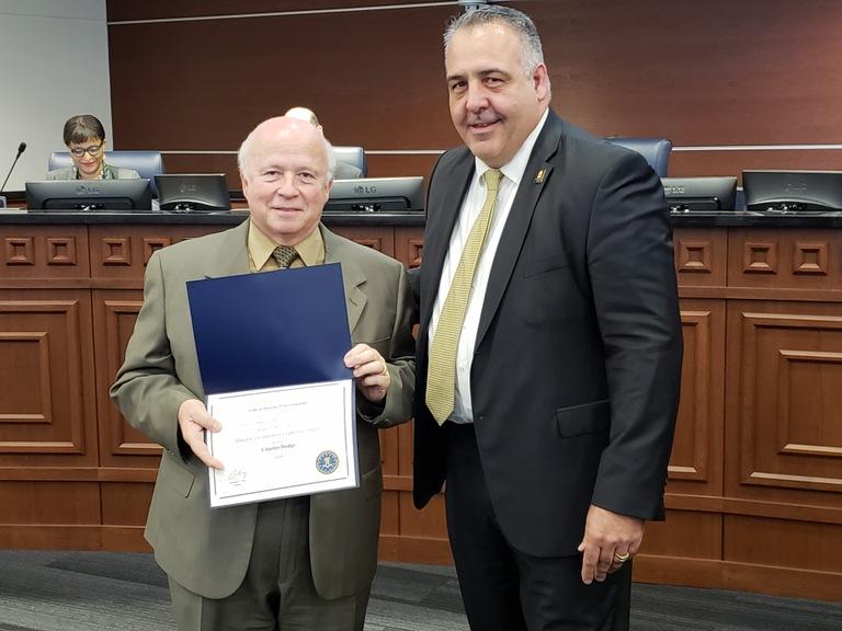 Mr. Charles Dodge, DCLA nomination