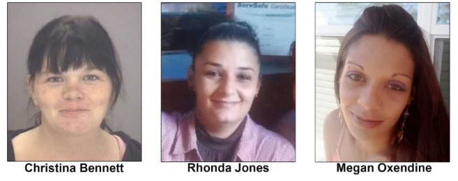 The FBI and the Lumberton Police Department are seeking information in the deaths of Christina Bennett, Rhonda Jones, and Megan Oxendine.