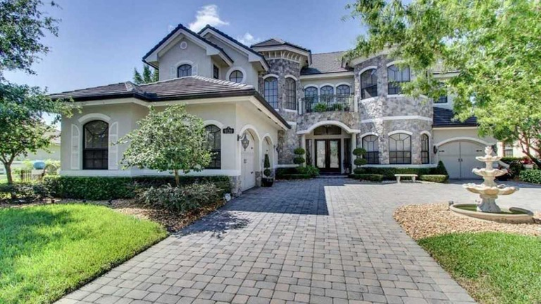 Florida mansion owned by Kenneth Chatman