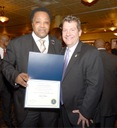 FBI Chicago Honors Community Activist Andrew Holmes for His Work to Help Police Fight Violent Crime
