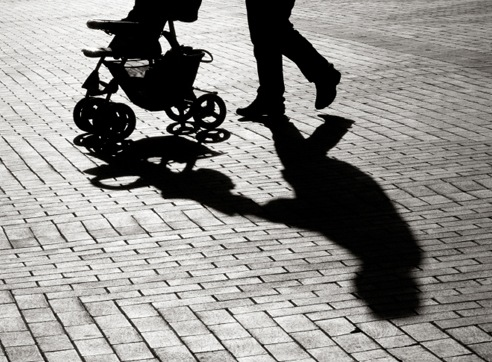 Baby Stroller Shadow