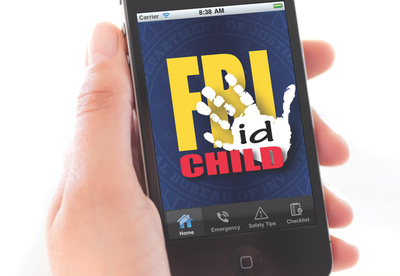 The Child ID app—the first mobile application created by the FBI—provides a convenient place to electronically store photos and vital information about your children so that it's literally right at hand if you need it. It was first launched in August 2011.