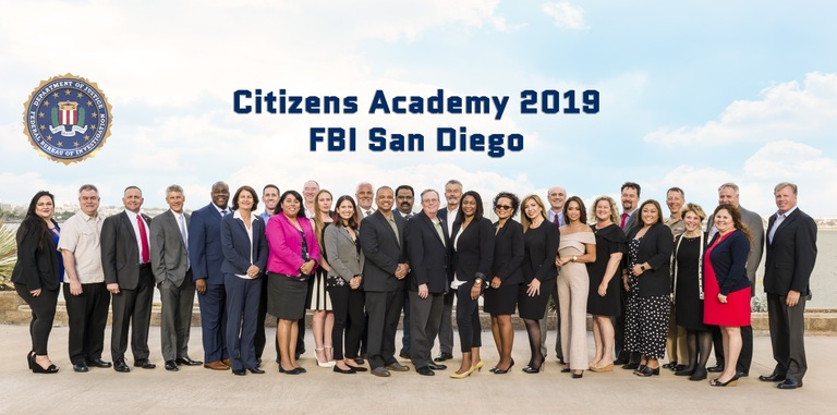 FBI San Diego Citizens Academy 2019