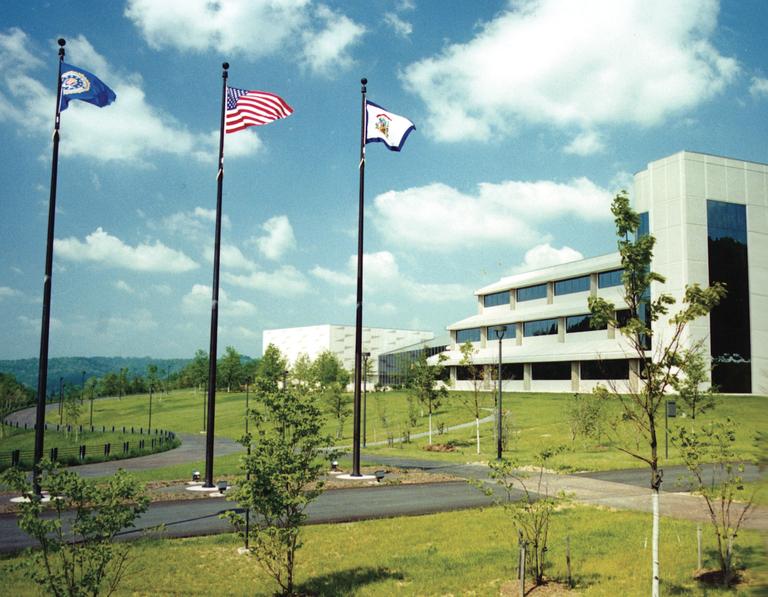 Exterior of CJIS Building