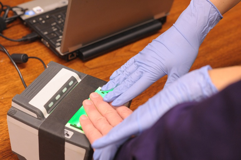 Next Generation Identification (NGI) Fingerprint Scanner