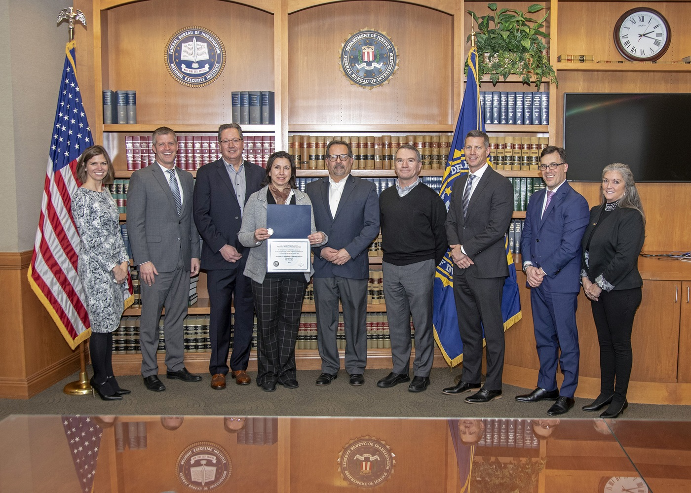 FBI Cleveland 2019 Director's Community Leadership Award recipient The Foundry.