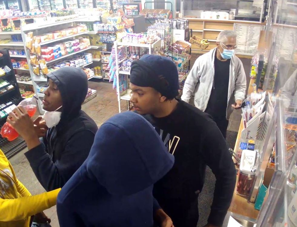 Cleveland Carjackings Suspects inside business