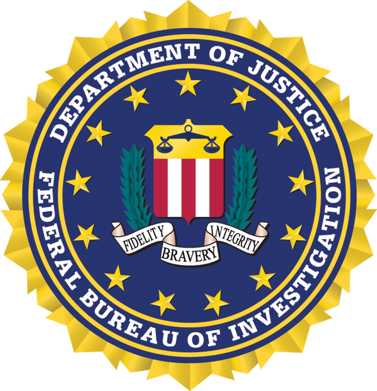 Color FBI Seal