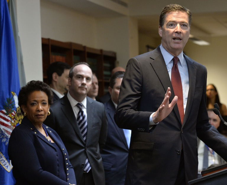 Director Comey at Press Conference on Charges Against FIFA Officials