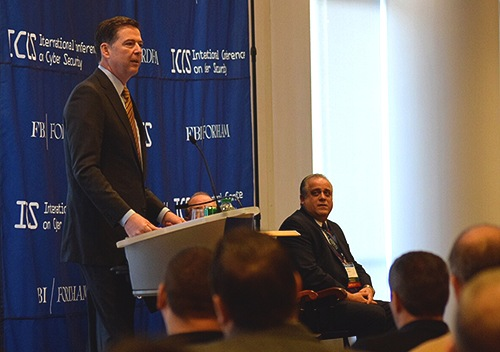 Director Comey at Fordham University