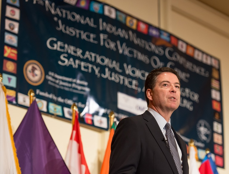 Director Comey in Palm Springs