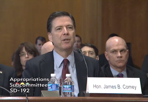 Director Comey Testifies Before Senate Subcommittee