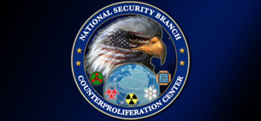 FBI Counterproliferation Center Seal