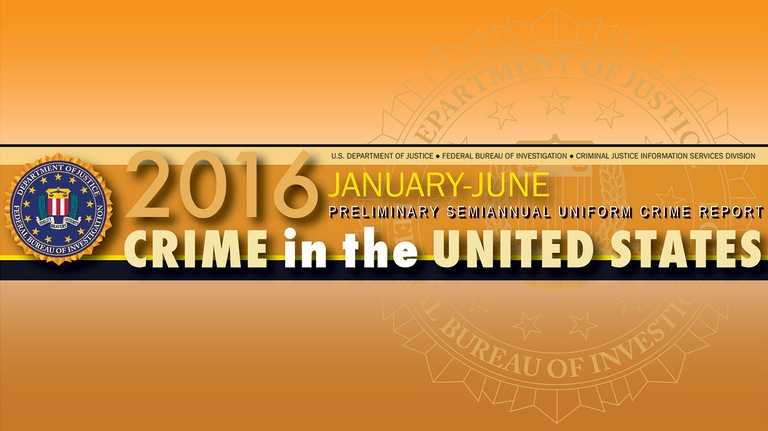 Crime in the U.S. 2016 Preliminary