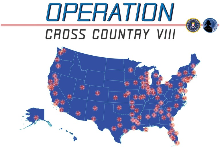 Operation Cross Country 8 map