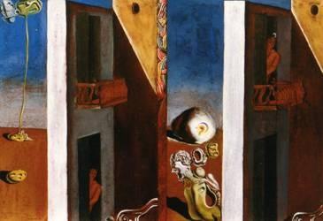 Salvador Dali, 1929, Two Balconies