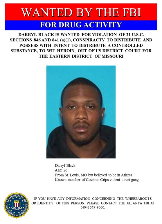 Atlanta Drug Fugitive