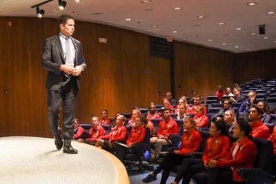 FBI Holds Career Information Session for Team USA Athletes