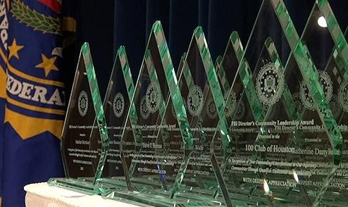 Director's Community Leadership Award Trophies
