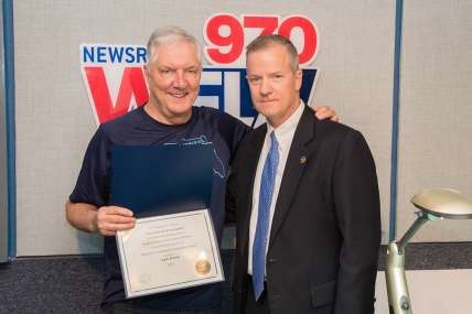 "The ""Voice of Tampa Bay"" Receives FBI Director's Community Leadership Award"